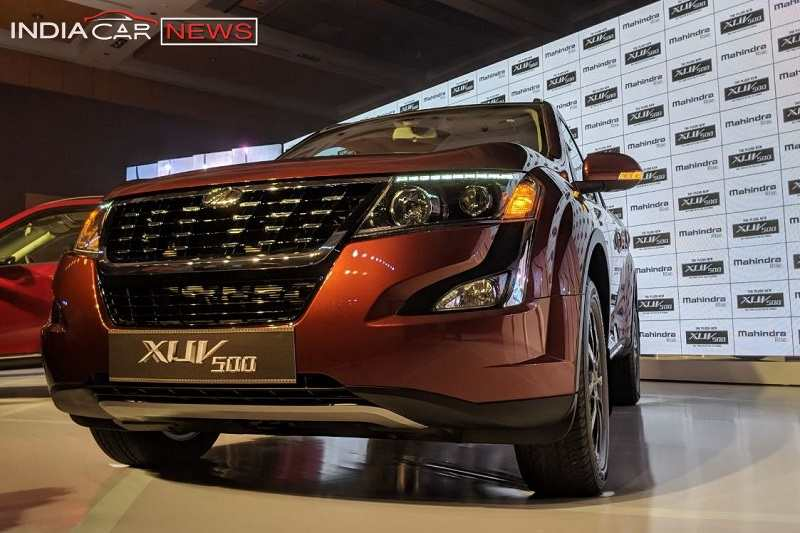 2018 Mahindra XUV500 Price In India