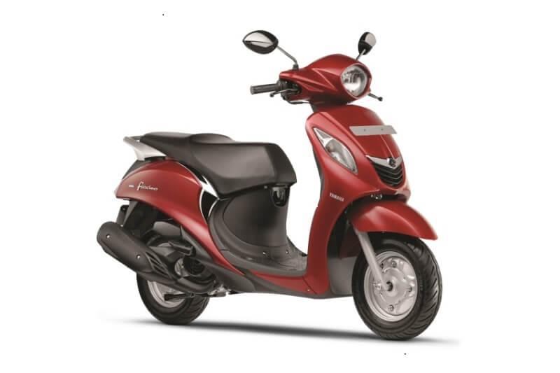 2018 Yamaha Fascino New Colours