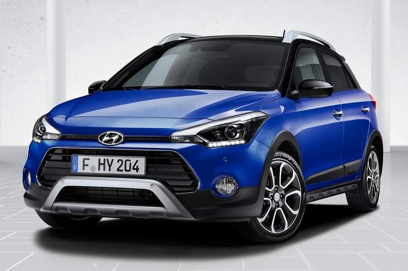 2019 hyundai i20 active facelift revealed pictures details. Black Bedroom Furniture Sets. Home Design Ideas