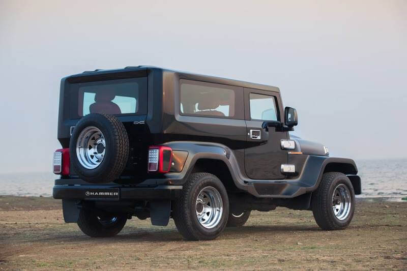 DC Hammer Based On The Mahindra Thar - Pictures & Details