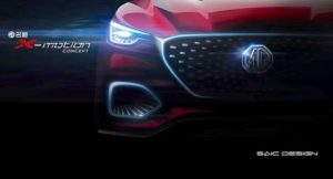 MG X-Motion Concept teaser