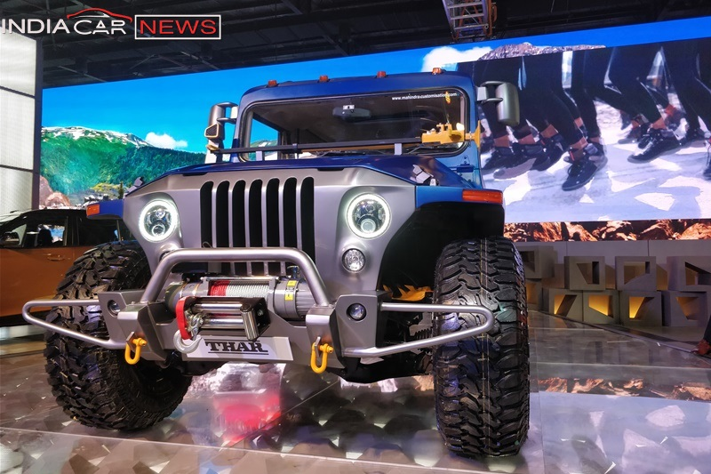 Mahindra Thar Wanderlust Price Specifications Features Interior