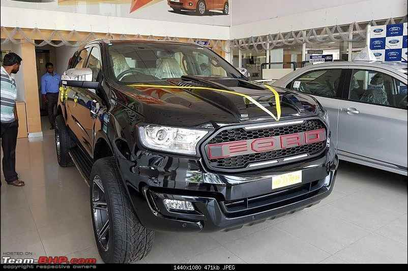 Modified Ford Endeavour