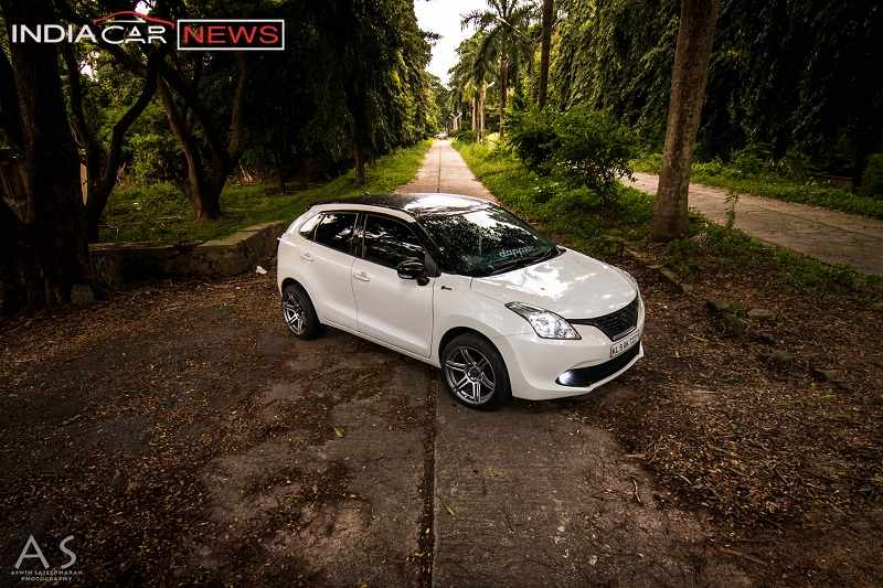 Modified Maruti Baleno 1