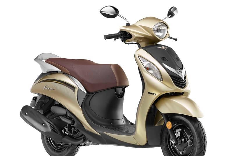 New Colour Yamaha Fascino