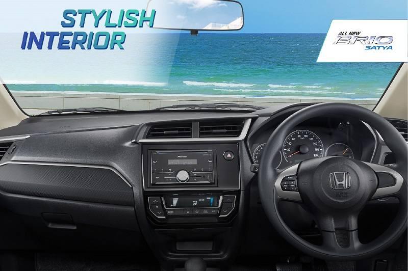 New Honda Brio 2019 Unveiled Interior