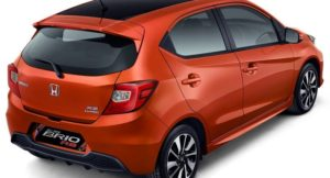 New Honda Brio RS Price In India