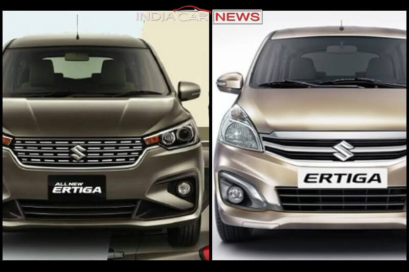 New Maruti Ertiga 2018 Vs Old Ertiga Price Specs Mileage Features