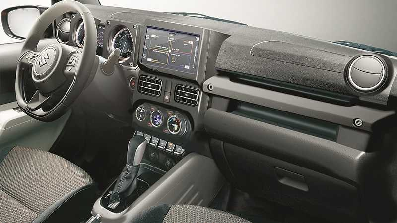 Maruti Suzuki Jimny Interior >> New Suzuki Jimny Pictures Out; To Be Launched As New Gypsy In India