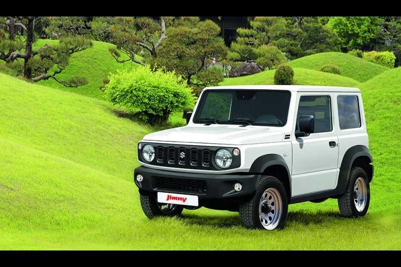 New Suzuki JImny Official Pics