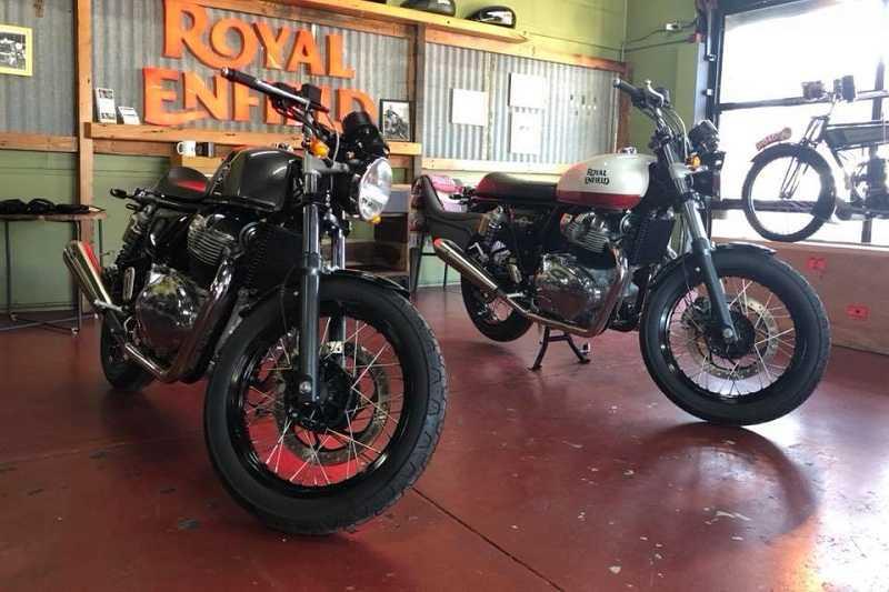 Royal Enfield 650cc Twins
