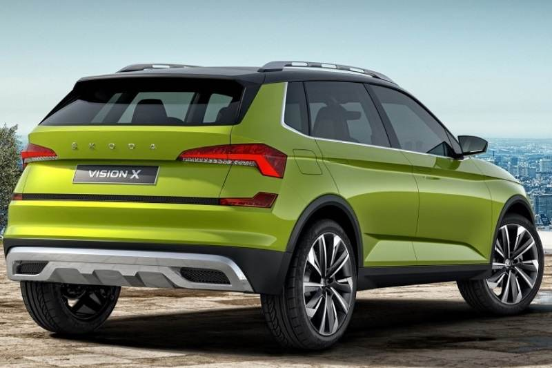interior details of skoda s new small suv revealed. Black Bedroom Furniture Sets. Home Design Ideas