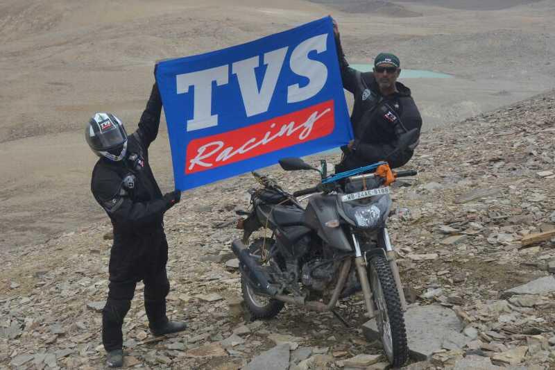 TVS Apache RTR 200 4V Limca Record
