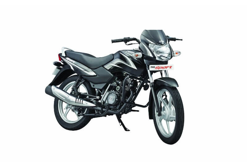 TVS Sport Silver Alloy Edition Price, Specs, Mileage, Features