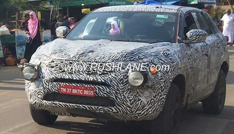 Tata H7X 7-Seater SUV Spotted Testing For The First Time