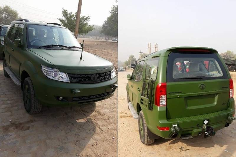 Tata Safari Storme Army Edition