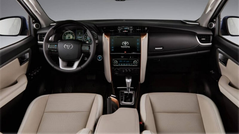 Toyota Fortuner Diamond Interior