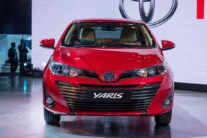 Toyota Yaris India