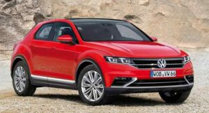 Volkswagen crossover imagined