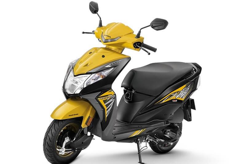 Honda Dio New Model 2018 >> 2018 Honda Dio Deluxe Price, Mileage, Specs, Features, Colors