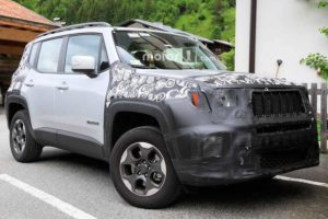 2019 Jeep Renegade Spied