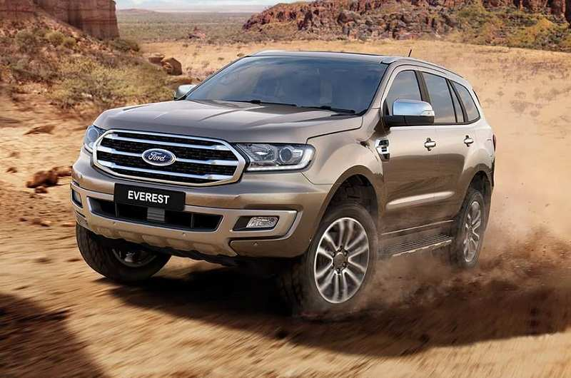 New Ford Endeavour 2018 India Launch