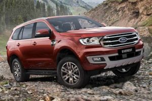 Ford Endeavour facelift Unveiled
