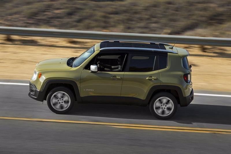 Jeep Renegade Motion Shot