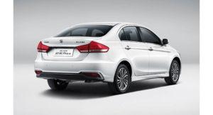 Maruti Ciaz Facelift Changes Rear