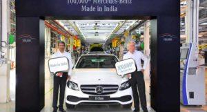 Mercedes Production Milestone