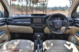 New Honda Amaze Review Interior