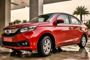 New Honda Amaze Review Side