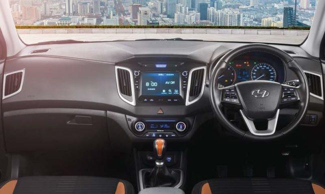 New Hyundai Creta 2018 Interior