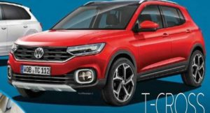 Volkswagen T-Cross Leaked