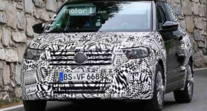 Volkswagen T-Cross Production Spied
