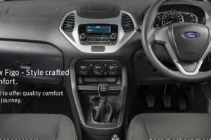 2018 Ford Figo Facelift Revealed Interior
