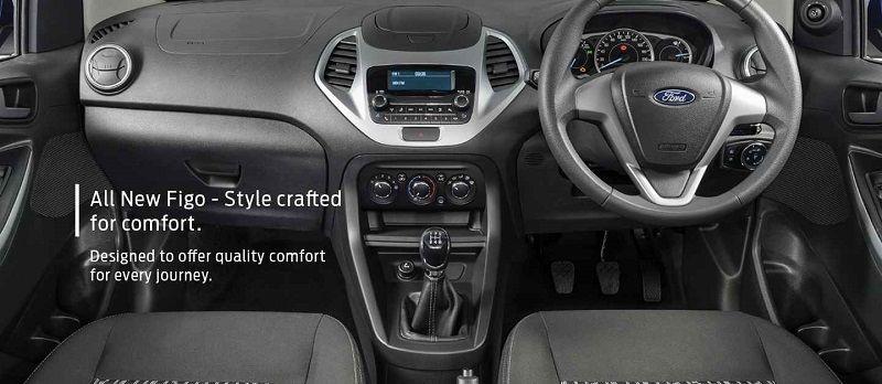 2018 Ford Figo Facelift Revealed Interior