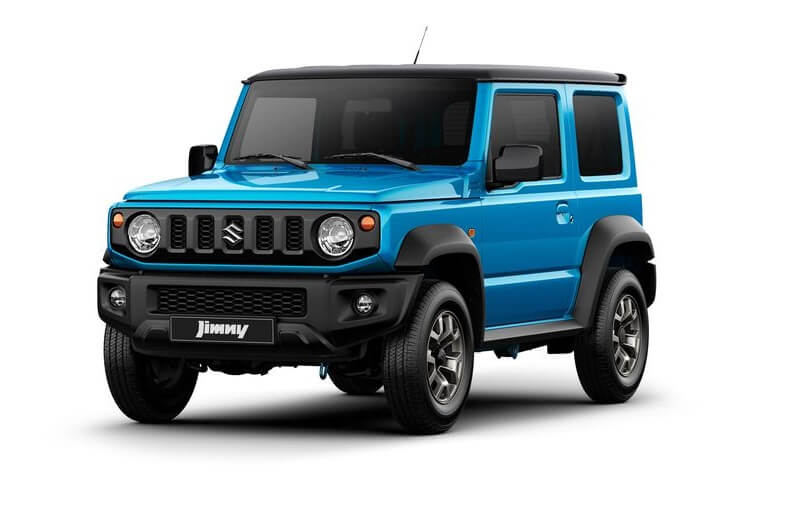 New 2019 Suzuki Jimny Mini Off-Roader Official Images Released