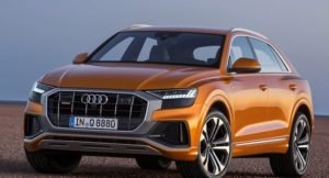 Audi Q8 SUV Revealed Front