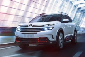 Citroen C5-Aircross India Front