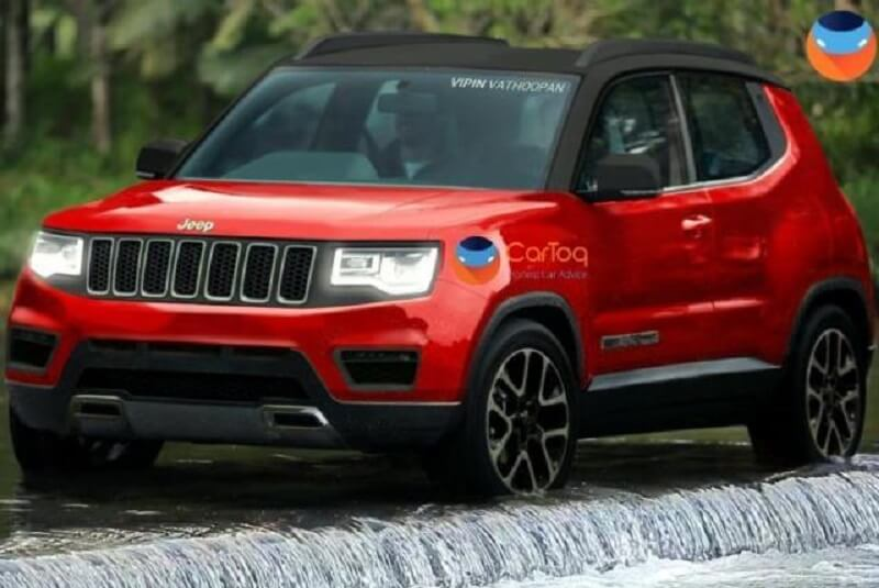 Jeep Small SUV Rendering