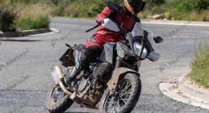 KTM 390 Adventure Spied Again