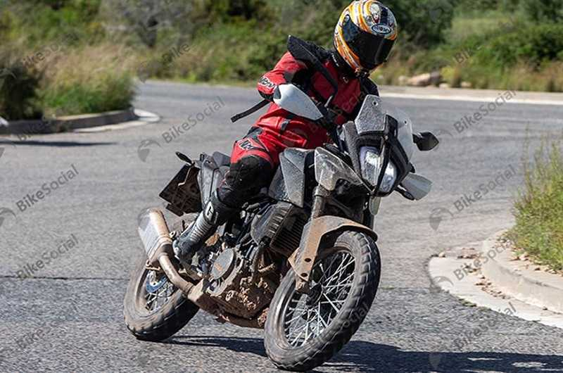 KTM 390 Adventure Spied Again