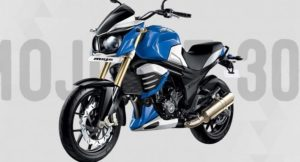 Mahindra Mojo XT300 New Blue Colour