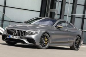 Mercedes AMG S 63 Coupe 4Matic+ Launch