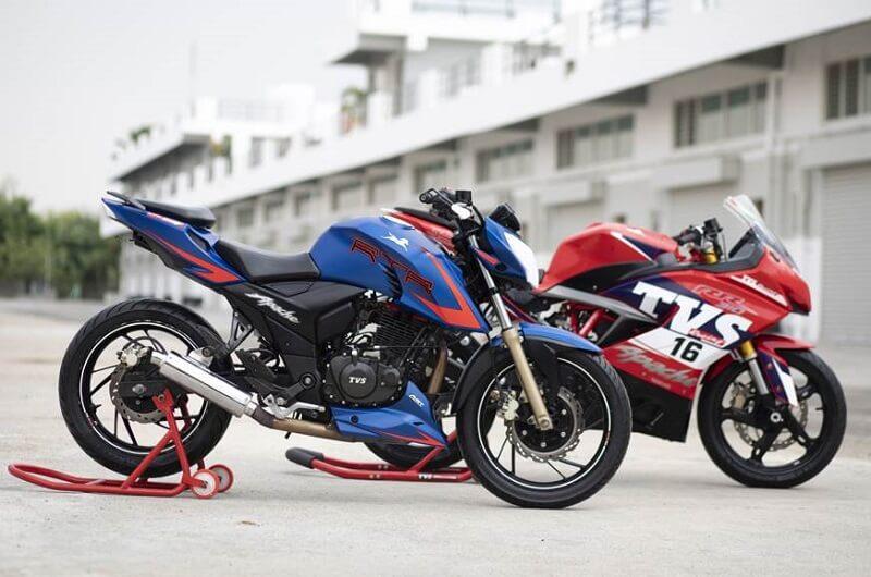 TVS Apache RTR 200 & RR 310 Race