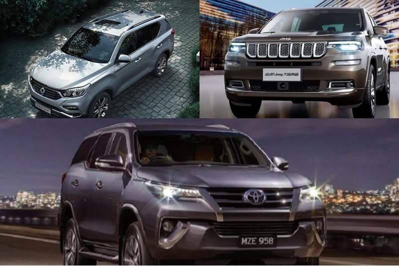 Toyota Fortuner Rivals
