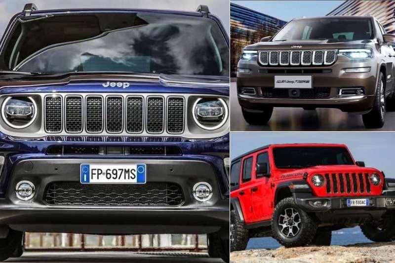 Upcoming New Jeep SUVs