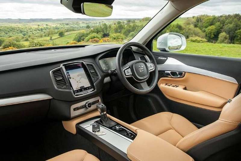Volvo Xc90 T8 Inscription Interior India Car News