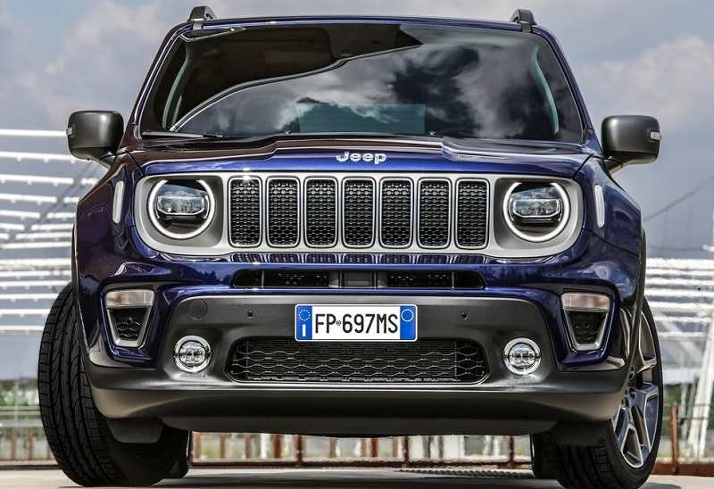 2019 Jeep Renegade Facelift Front
